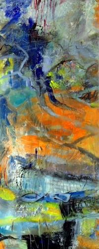 Barbara Schauß, wild today, Abstraktes, Fantasie, Gegenwartskunst