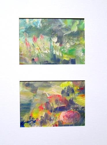 Barbara Schauß, spring 15, Pflanzen: Blumen, Natur, Impressionismus