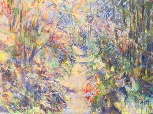 Barbara Schauß, paradise lost, Menschen, Natur, Impressionismus