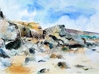 Barbara-Schauss-1-Landschaft-Strand-Natur-Wasser-Gegenwartskunst-Gegenwartskunst