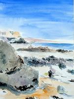 Barbara-Schauss-1-Landschaft-See-Meer-Natur-Wasser-Gegenwartskunst-Gegenwartskunst