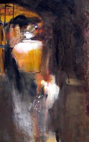 Barbara Schauß, Altamira Detail, Landschaft, Abstraktes, Gegenwartskunst, Abstrakter Expressionismus