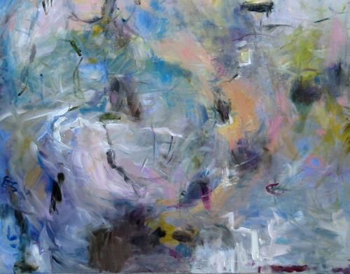 Barbara Schauß, look back in anger 1 detail, Abstraktes, Diverses, Abstrakter Expressionismus