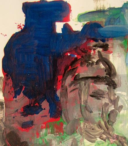 Barbara Schauß, Hagen jazzt Detail 2, Menschen, Abstraktes, Gegenwartskunst, Abstrakter Expressionismus