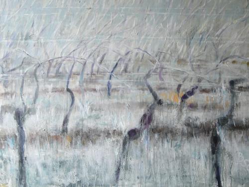 Barbara Schauß, Winterzauber, Landschaft, Natur: Diverse, Gegenwartskunst
