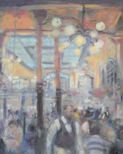 Barbara Schauß, Chartier Paris, Menschen, Diverse Bauten, Impressionismus