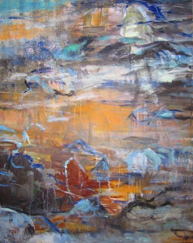 Barbara Schauß, born to be wild, Landschaft, Abstraktes, Gegenwartskunst