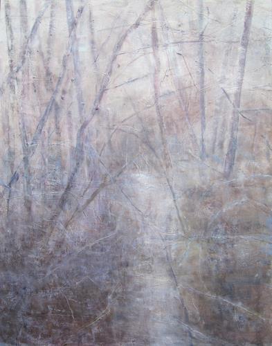 Barbara Schauß, Mirage, Landschaft, Natur, Gegenwartskunst, Expressionismus
