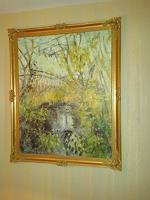 Barbara-Schauss-1-Landschaft-Sommer-Diverse-Pflanzen-Moderne-Impressionismus-Neo-Impressionismus