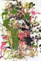 Barbara-Schauss-1-Abstraktes-Diverse-Pflanzen-Moderne-Expressionismus-Abstrakter-Expressionismus
