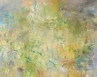Barbara-Schauss-1-Diverse-Pflanzen-Abstraktes-Moderne-Impressionismus-Neo-Impressionismus