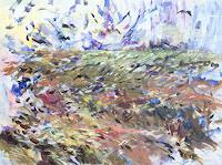 Barbara-Schauss-1-Landschaft-Sommer-Pflanzen-Moderne-Impressionismus-Neo-Impressionismus