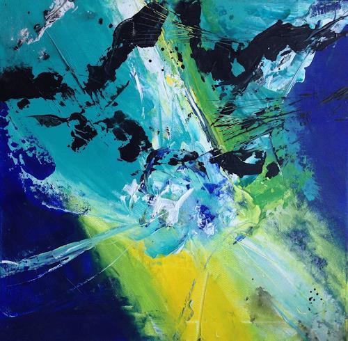 Jean, O/T, Dekoratives, Gegenwartskunst, Abstrakter Expressionismus
