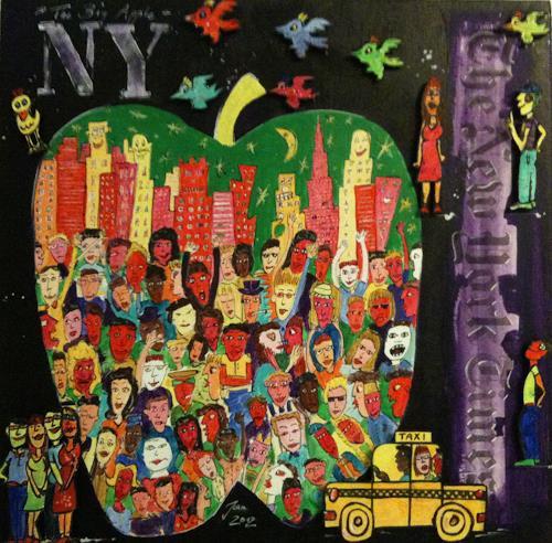 Jean, New York, Wohnen: Stadt, Pop-Art