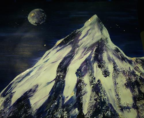 Jean, Der Berg ruft, Natur: Gestein, Gegenwartskunst