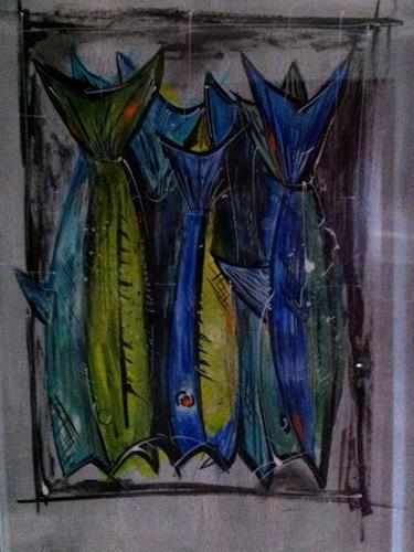 Jean, Stockfische, Tiere: Wasser, Gegenwartskunst
