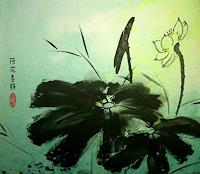Jean-Pflanzen-Blumen-Moderne-Pop-Art