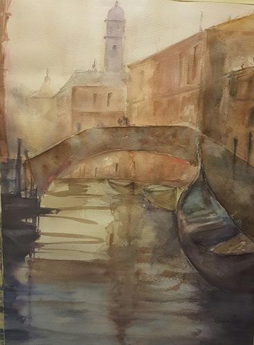 Jean, Venedig, Dekoratives, Gegenwartskunst, Expressionismus