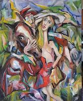 Doleta-Kaminskiene-Abstraktes-Menschen-Moderne-Expressionismus-Abstrakter-Expressionismus