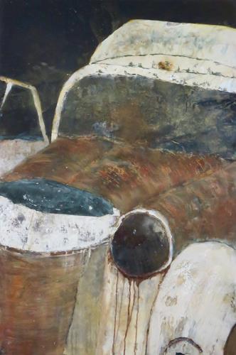 Magdalena Oppelt, Annabell, Verkehr: Auto, Gegenwartskunst, Expressionismus