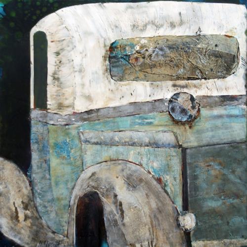 Magdalena Oppelt, Dirty Dancing, Verkehr: Auto, Gegenwartskunst, Expressionismus