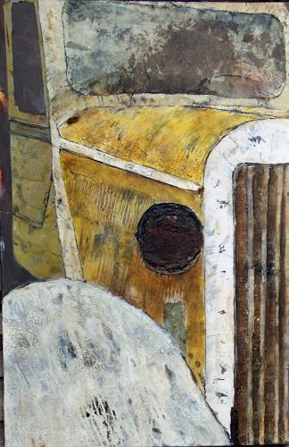 Magdalena Oppelt, Golden Ager, Verkehr: Auto, Abstraktes, Art Déco, Expressionismus
