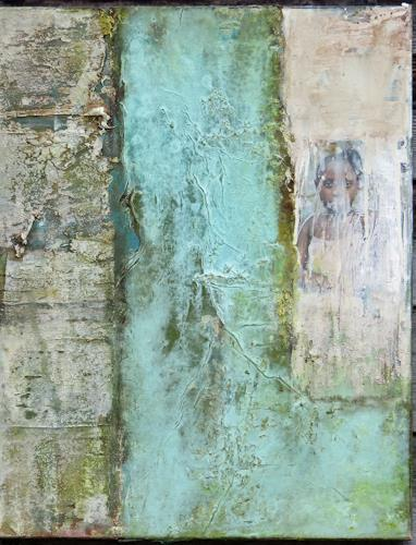 Magdalena Oppelt, Sei willkommen, Abstraktes, Informel, Expressionismus