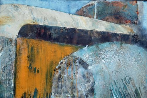 Magdalena Oppelt, I wonna go home, Abstraktes, Verkehr: Auto, Abstrakte Kunst, Expressionismus