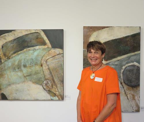 Magdalena Oppelt, Ausstellung gegenSÄTZE, Menschen, Symbolismus