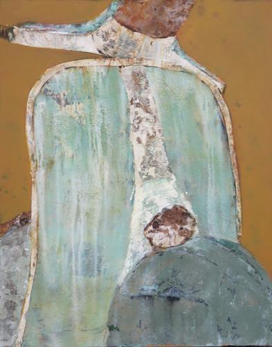 Magdalena Oppelt, Paperino, my first love, Verkehr: Motorrad, Abstraktes, Abstrakte Kunst, Expressionismus