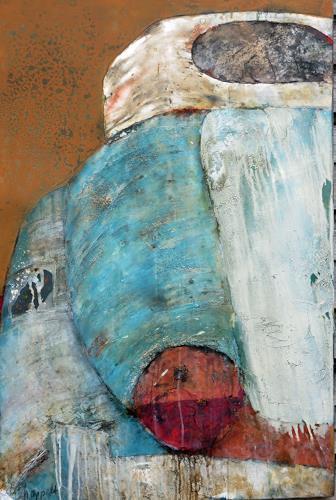 Magdalena Oppelt, Salsa Cubana, Verkehr: Auto, Abstraktes, Konkrete Kunst, Expressionismus