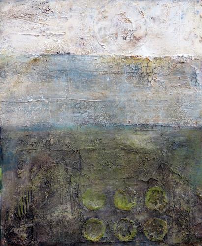 Magdalena Oppelt, Im ewigen Kreis, Abstraktes, Symbol, Abstrakte Kunst, Abstrakter Expressionismus