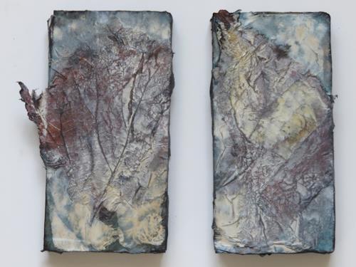 Magdalena Oppelt, Miniaturen nature II, Abstraktes, Natur, Art Déco, Expressionismus