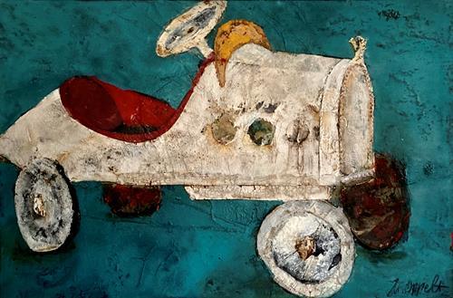 Magdalena Oppelt, Youngster, Gefühle: Geborgenheit, Verkehr, Konzeptkunst