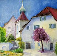 ALEX-BECK-Landschaft-Bauten-Kirchen-Neuzeit-Realismus