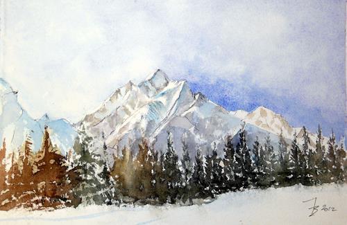 ALEX BECK, Schuol/GR, Landschaft: Berge, Natur: Gestein, Realismus
