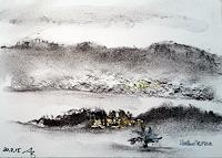ALEX-BECK-Landschaft-Winter-Natur-Moderne-expressiver-Realismus