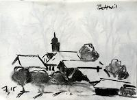 ALEX-BECK-Landschaft-Winter-Architektur-Neuzeit-Realismus