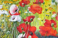 ALEX BECK, Poppy meadow