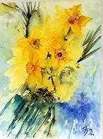 ALEX-BECK-Pflanzen-Blumen-Natur-Neuzeit-Realismus