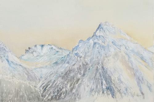 ALEX BECK, Arosa/GR,  Schiesshorn, Landschaft: Berge, Natur: Gestein, Realismus