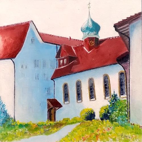 ALEX BECK, Klosterkirche, Zentralbau, Gnadenthal, Bauten: Kirchen, Architektur, Naturalismus