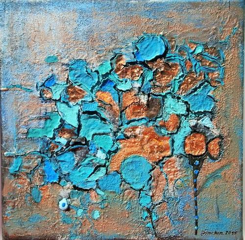 Marion Eßling, Frohsinn, Abstraktes, Abstrakte Kunst