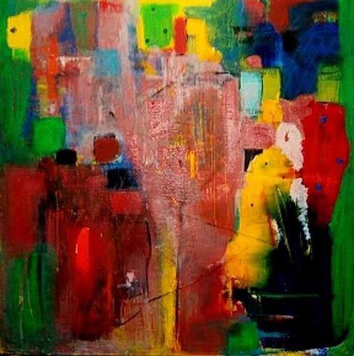 Marion Eßling, Kunterbunt, Abstraktes, Expressionismus