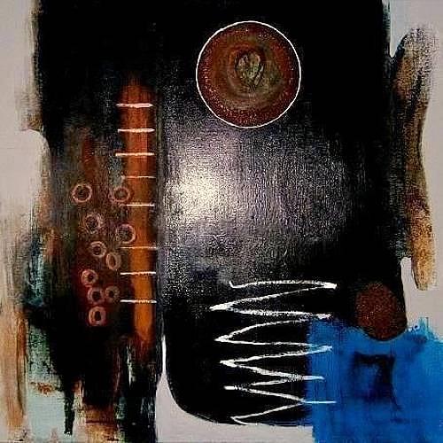 Marion Eßling, Geheimnisvoll, Abstraktes, Abstrakte Kunst