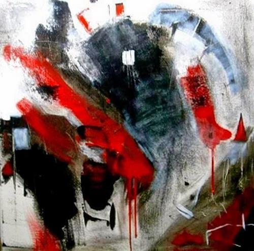 Marion Eßling, Die Macht und die Liebe, Abstraktes, Diverse Gefühle, Abstrakter Expressionismus