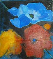 Marion-Essling-Pflanzen-Blumen-Abstraktes-Moderne-Abstrakte-Kunst