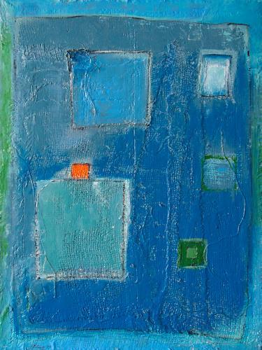 Marion Eßling, Gedankenspiel, Abstraktes, Abstrakter Expressionismus