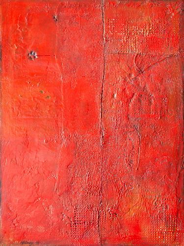 Marion Eßling, Nachtschicht meiner Muse Jerry, Abstraktes, Abstrakte Kunst
