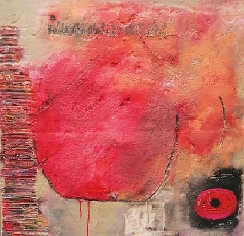 Marion Eßling, Komposition, Abstraktes, Abstrakte Kunst, Expressionismus
